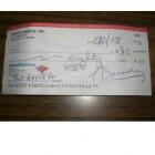 Een cheque als betaling ontvangen. En nu?