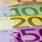 Het speciale papier van bankbiljetten
