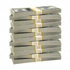 Crisis: cash geld opzij zetten om te sparen of te beleggen