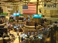 De NYSE (New York Stock Exchange) / Bron: Ryan Lawler, Wikimedia Commons (Publiek domein)